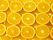 Orange slices background Royalty Free Stock Photography