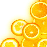 Orange Slices Border Royalty Free Stock Photo