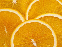 Orange Slices Close-Up Stock Image