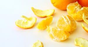 Orange slices. On a light background Stock Image