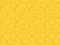Orange slices pattern Stock Photography