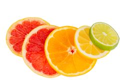 Orange slices Royalty Free Stock Images