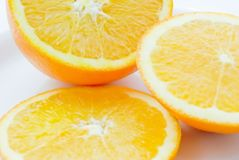 Orange Slices on Plate (2) Stock Photography