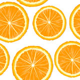 Orange slices seamless Royalty Free Stock Image