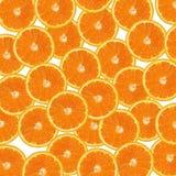 Orange slices on white Stock Images