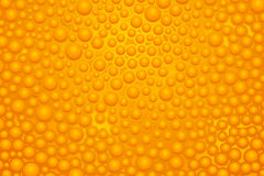 Orange slime 02. Illustration of wide orange color bubble slime background Royalty Free Stock Image