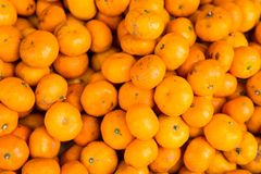 Orange. Almost small size oranges taste sweet Stock Photo
