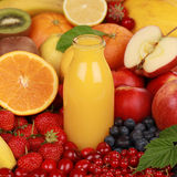 Orange Smoothie Stock Image