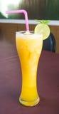 Orange Smoothie Royalty Free Stock Photography