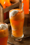 Orange Soda Creamsicle Ice Cream Float Royalty Free Stock Photos