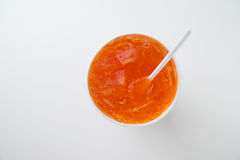 Orange soda Stock Images