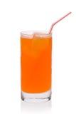 orange sodavatten royaltyfri bild