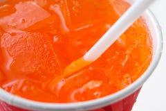 orange sodavatten fotografering för bildbyråer