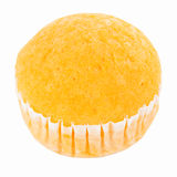 Orange soft cake Stock Image