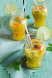Orange soft drink Royalty Free Stock Photo
