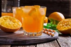 orange soft för coctaildrinkis Fotografering för Bildbyråer