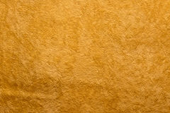 Orange soft velvet textile Royalty Free Stock Photography