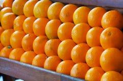 Orange. Some orange in the supermarket Royalty Free Stock Photos