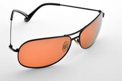 Orange Sonnenbrillen. Lizenzfreies Stockbild