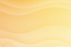 Orange Soothing Calming Curves Stock Images