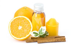 Orange spa Stock Photo