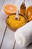 orange spa Στοκ Φωτογραφία