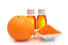 Orange spa Royalty Free Stock Image