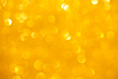 Orange Sparkles Background Stock Photo
