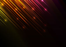 Orange speed shower abstract line background Stock Photo