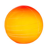 Orange sphere Royalty Free Stock Images