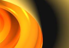 Orange sphere Royalty Free Stock Photo