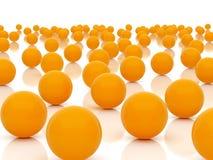 Orange spheres Royalty Free Stock Images