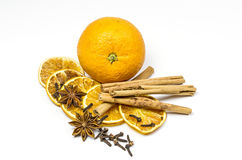 Orange and spice royalty free stock image