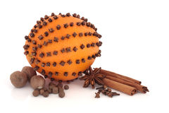 Orange and Spice Selection Stock Image