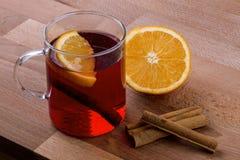 Orange and Spice Tea Stock Photo