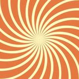 Orange spiral vintage Royalty Free Stock Image