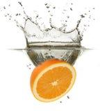 Orange Splash Stock Photos