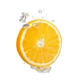 Orange Splash Royalty Free Stock Images