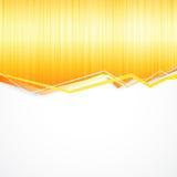Orange splashes background. Stock Image