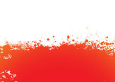 Orange splat band Royalty Free Stock Photography