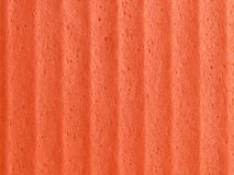 Orange sponge background Stock Image