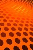 Orange Spot Pattern Royalty Free Stock Photography