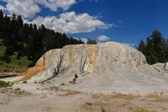 Orange Spring Mound Royalty Free Stock Photography