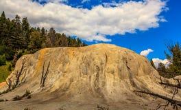 Orange Spring Mound Royalty Free Stock Photo