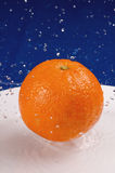 Orange Spritzen stockbild