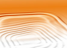 Orange Square Ripples Royalty Free Stock Photography