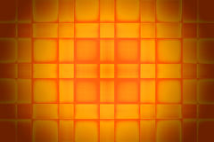 Orange Square Texture Stock Image