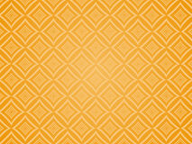 Orange squared pattern. Stock Photography