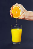 Orange squeezed juice Stock Photography