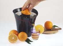 Orange squeezer Royalty Free Stock Images
